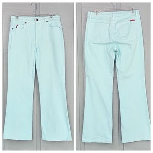 ❤️ NYDJ Tummy Tuck Boot Cut Aqua Blue Jeans
